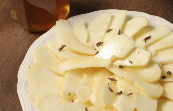 Pommes miel et cannelle