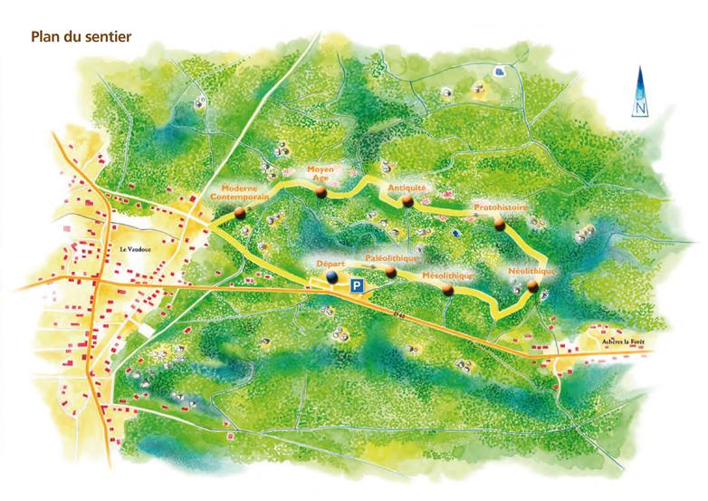 Sentier art rupestre plan WEB