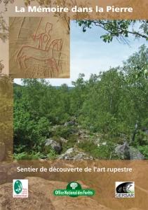 Sentier art rupestre mémoire dans la pierre couv