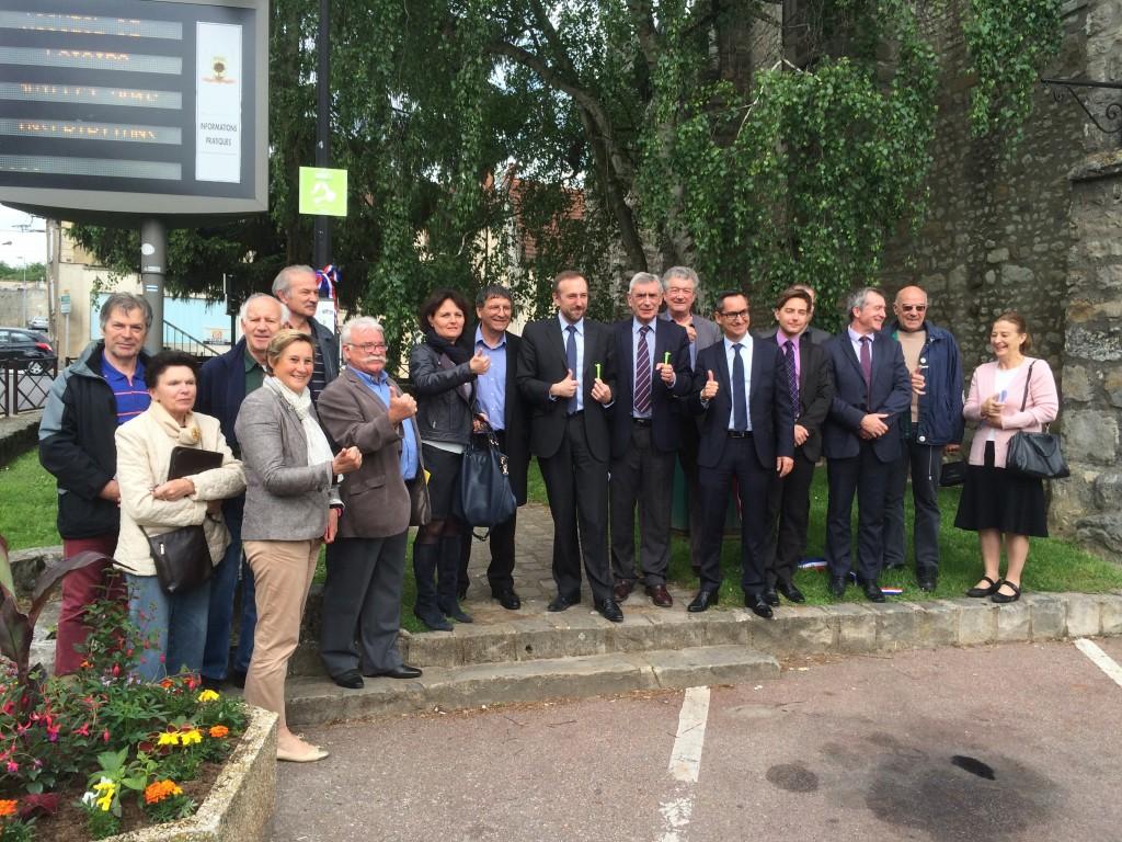 Rezo Pouce Inauguration 26 mai 2016