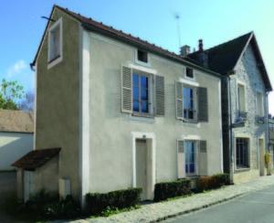 Maison de bourg : projet après rénovation (virtuel)