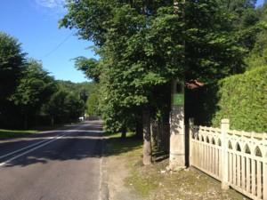Arrêt sur le pouce à Boigneville, dans le cadre de la démarche Rezo Pouce