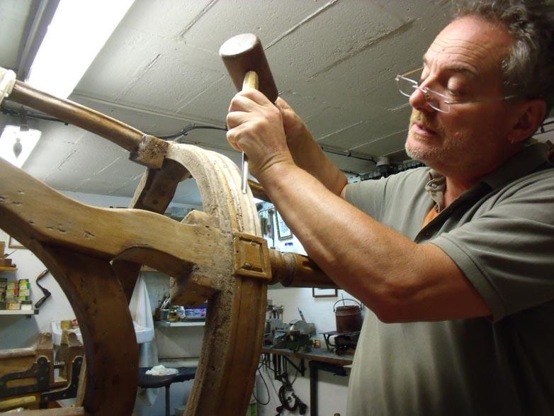 Arnaud Calinaud, tapissier